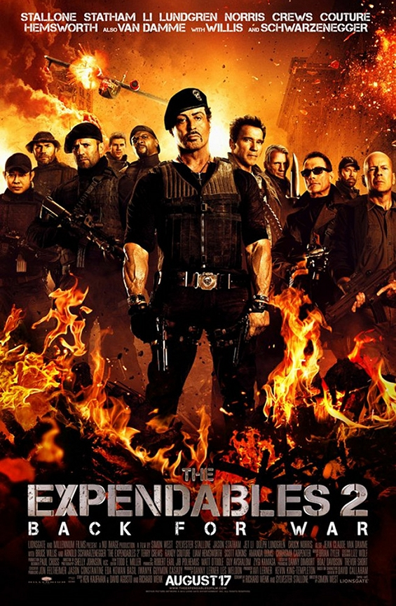 Hunk # 137  Expendables 2
