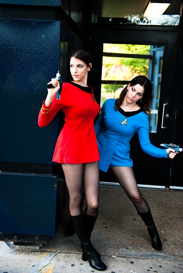 Babes & Hunks of Sci-Fi & Fantasy » Archive » Babe # 1148 – Trek Cosplay