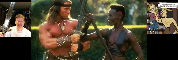 "Podcast # 476 – ""Conan the Destroyer"" – 1402.16"