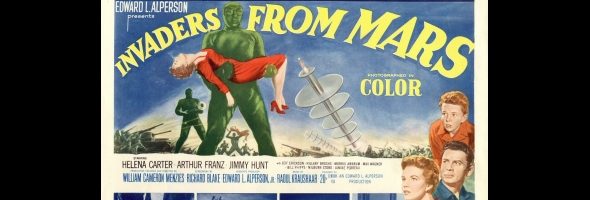 "Podcast # 483 – ""Invaders from Mars"" – 1404.13"