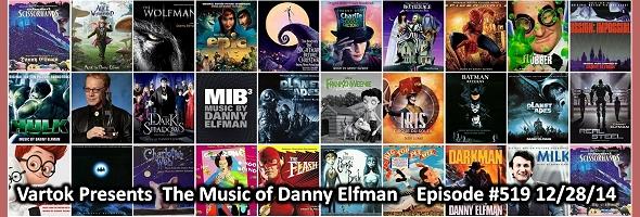Podcast # 519 – Danny Elfman – 1412.28