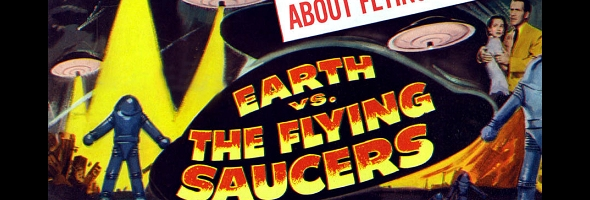 "Podcast # 529 – ""Earth vs. The Flying Saucers"" – 1503.08"