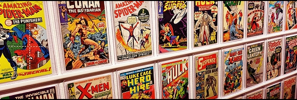 Podcast # 734 – Comic Talk – 1907.07
