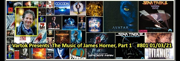 Podcast # 801 – Music of James Horner Pt. 1 – 2101.03