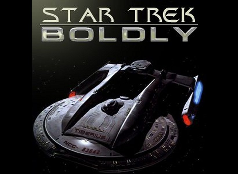 "Daily Pic # 332, ""Star Trek: Boldly"""