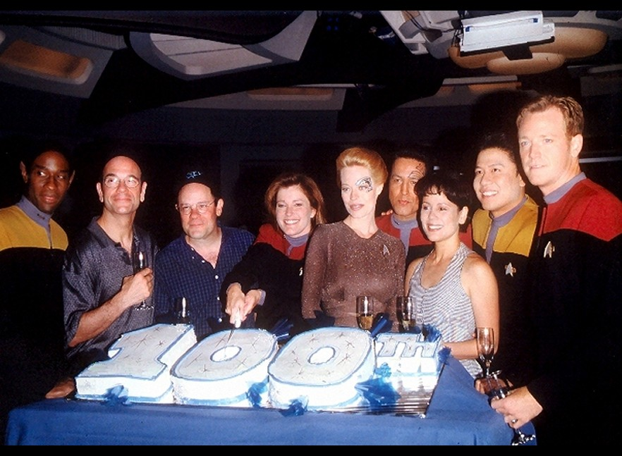 Daily Pic # 409, Voyager 100th episode