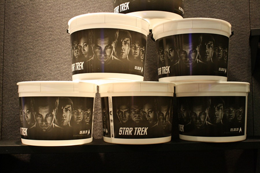Daily Pic # 410, Trek Popcorn!