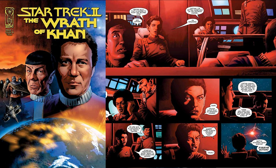"Daily Pic # 473, ""Wrath of Khan"" Comic Series"