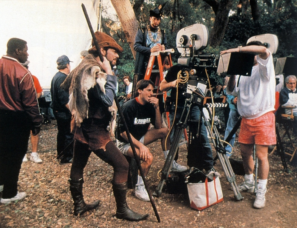 Daily Pic # 746, Behind the Scenes on TNG