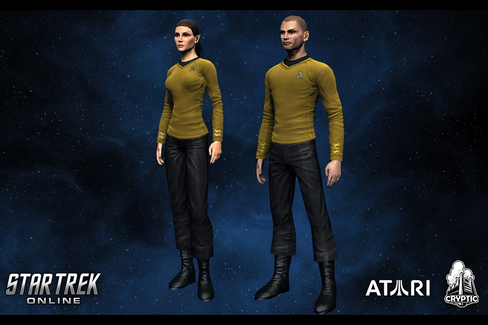 Star Trek Weekly Pic - Daily Pic # 845, Trek Online Uniforms
