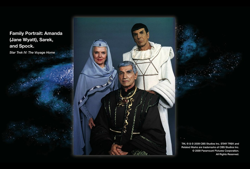 Daily Pic # 1203, Spock's Family