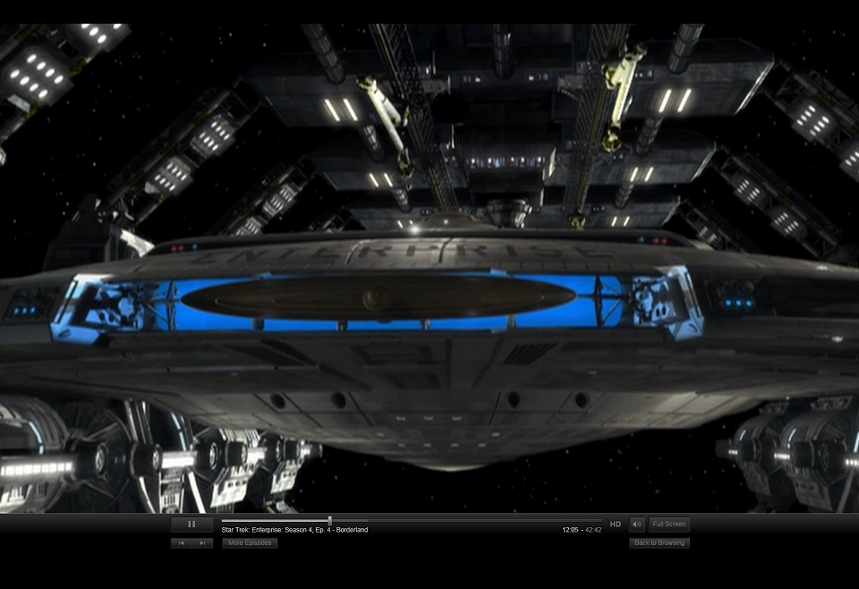 Daily Pic # 1215, Enterprise on Netflix