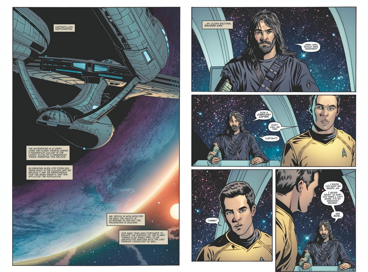 Daily Pic # 1453, Trek Comic
