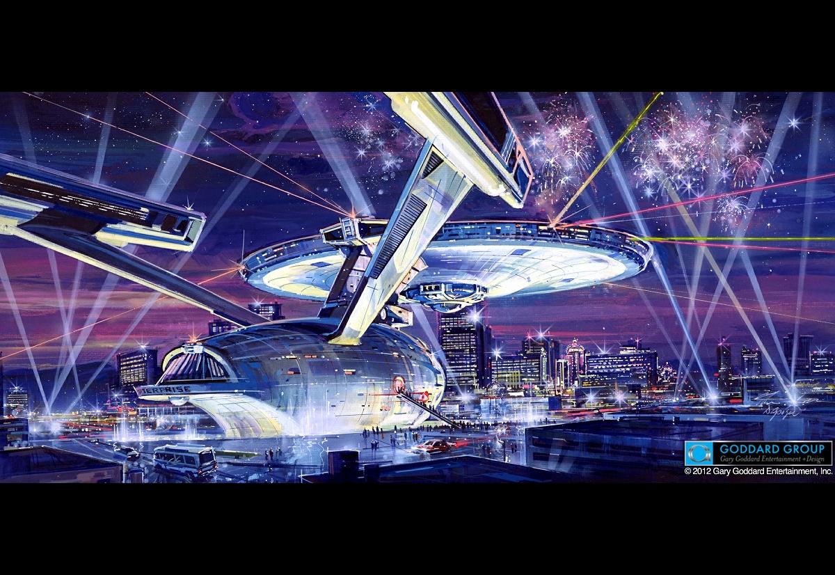 Daily Pic # 1492, Enterprise in Vegas?