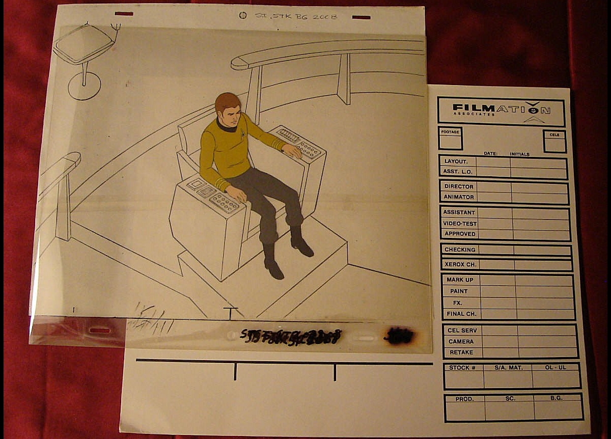 Daily Pic # 1498, Film Cels