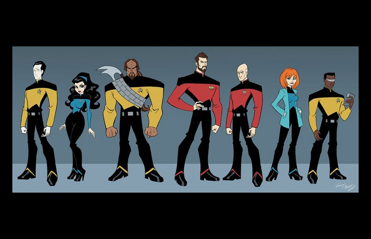 Daily Pic # 1511, TNG Animated Art