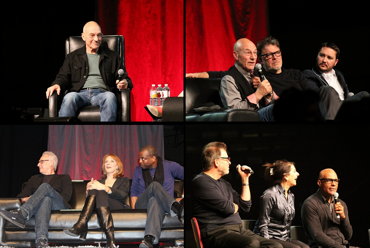 Daily Pic # 1514, TNG Cast at Con