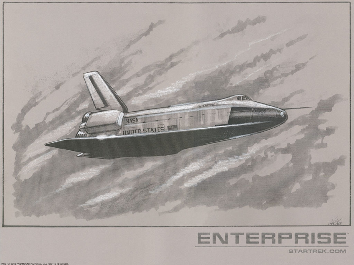 Daily Pic # 1522, Enterprise Shuttle