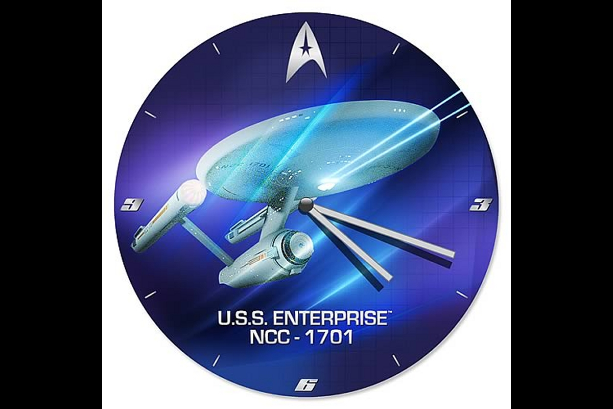 Daily Pic # 1729, Trek Clock