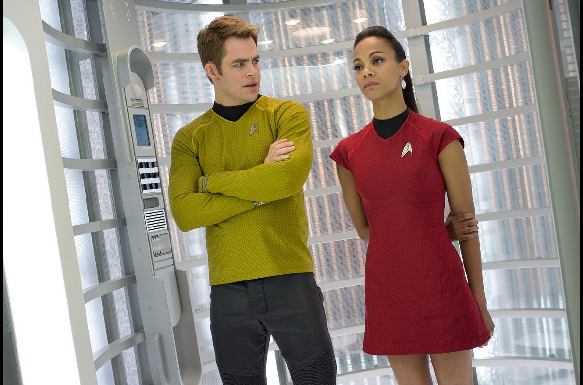 Daily Pic # 1894, Kirk &#038; Uhura