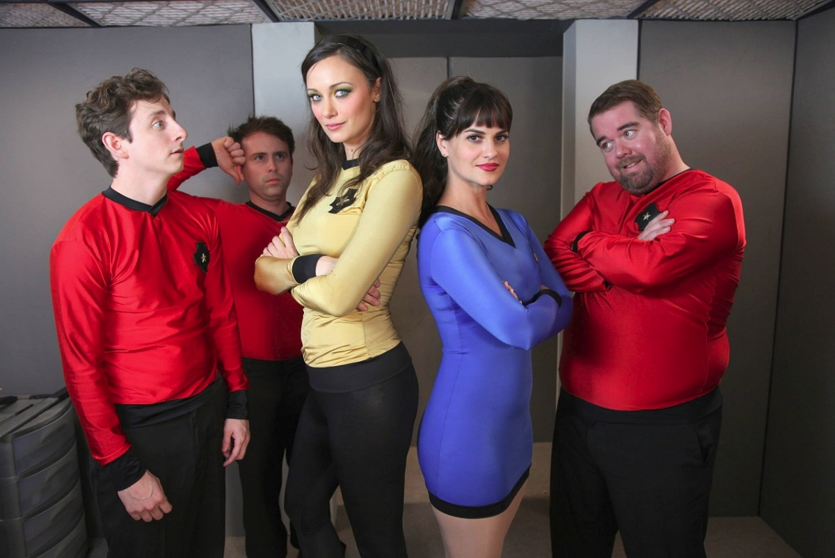 Daily Pic # 2304, Redshirts – The Series