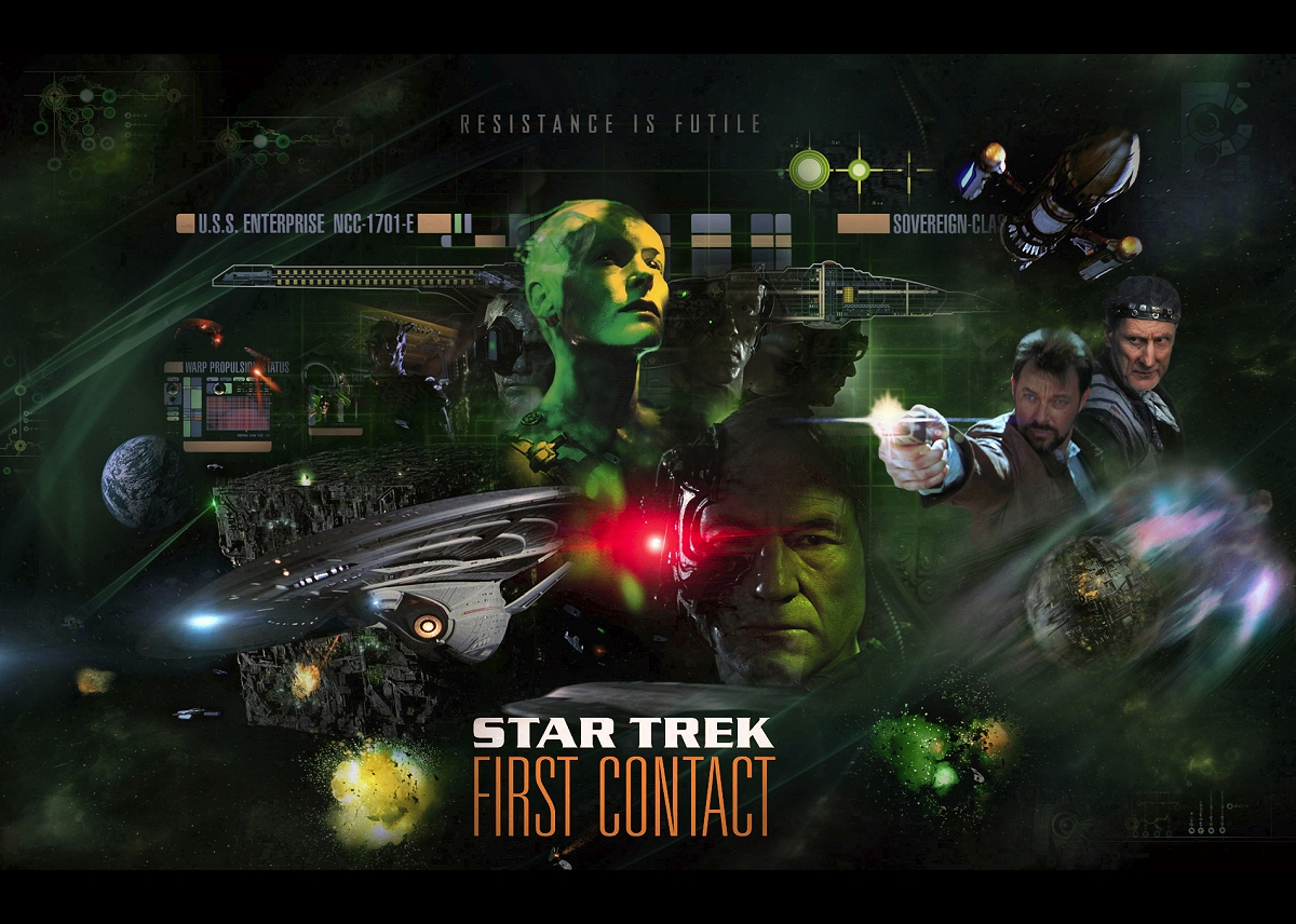 Daily Pic # 2678, First Contact