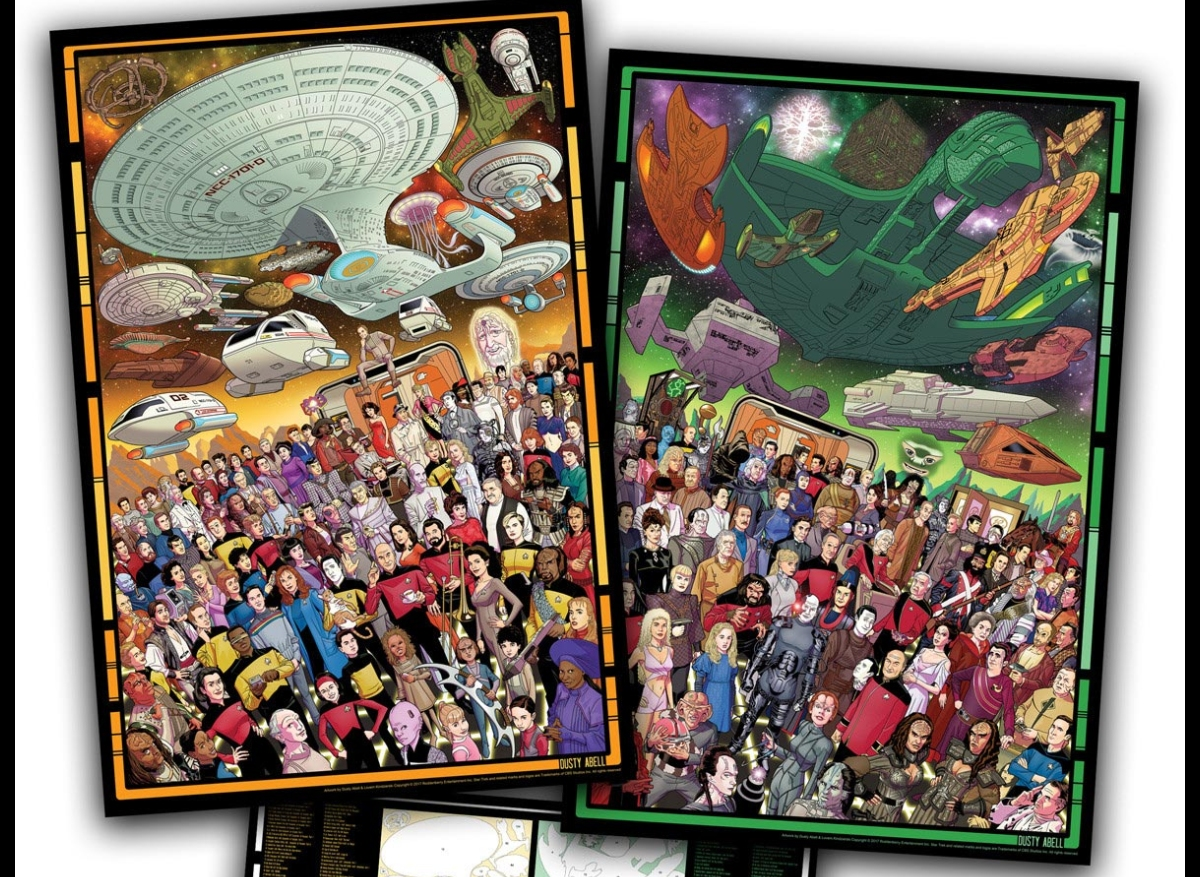 Daily Pic # 2834, TNG Posters