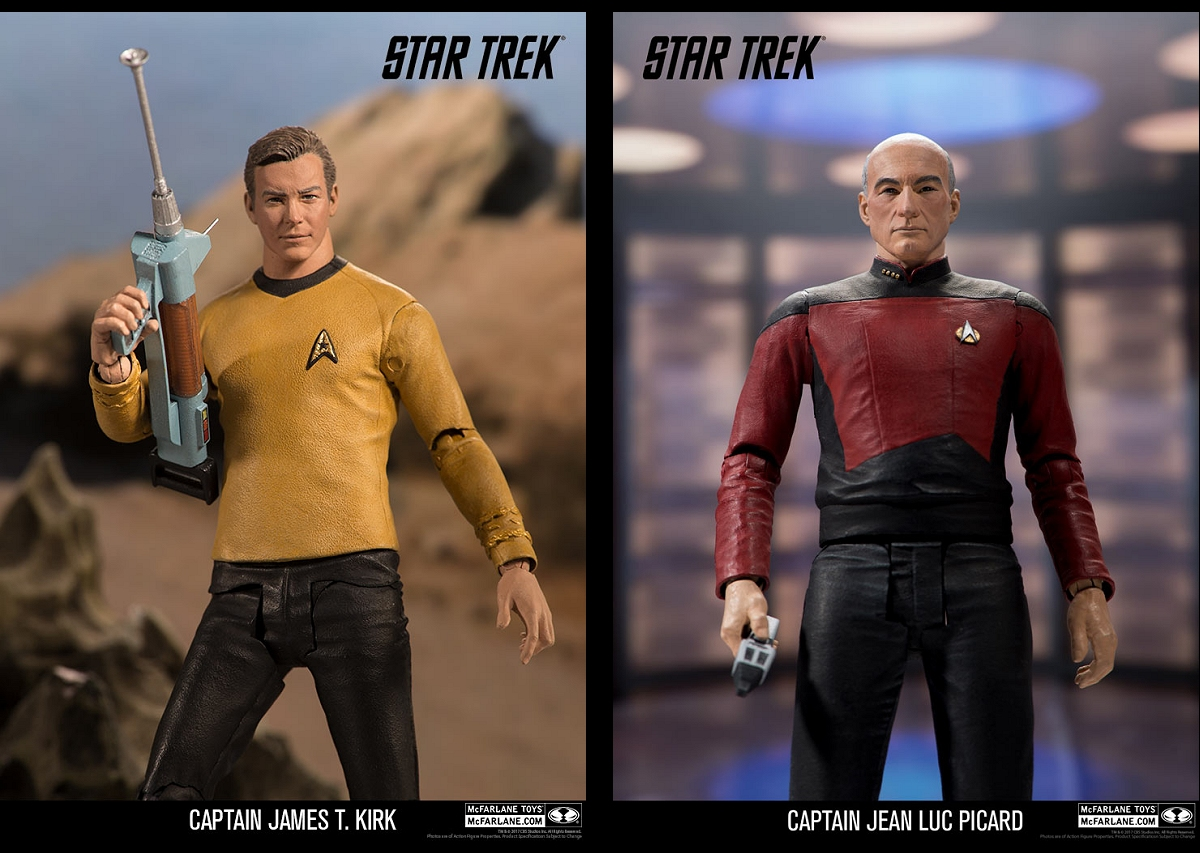 Weekly Pic # 2868, New Trek Figs