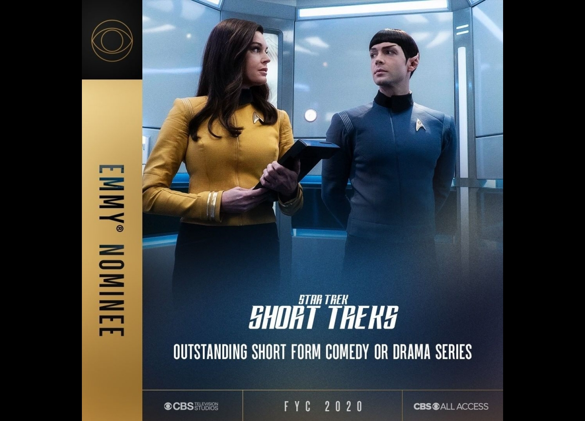 Weekly Pic # 2933, Star Trek Emmy Nominations